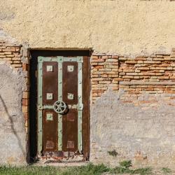 Neat old door.