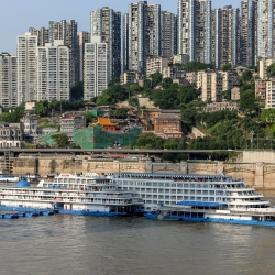 Our ship for our 3 day cruise down the Yangtze.