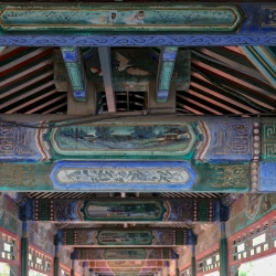 Summer Palace Covered Walkway.