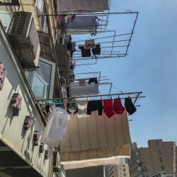Shanghai laundry day.