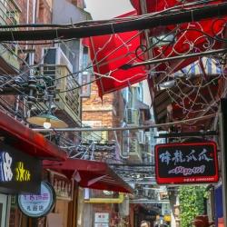 Tianzifang alley.