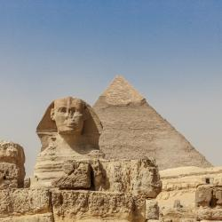 The Sphinx is not as big as you might think.