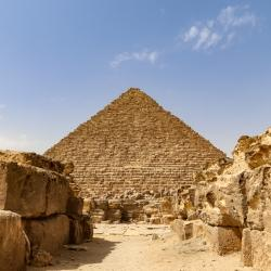 The pyramids are WAY BIGGER than you think. Probably one of the most amazing things we've ever seen.  It is absolutely mind-boggling to think about: 1) Someone had the insane idea to build these, 2) The amount of labor it took to build them 3) The engineering feat to pull it off, and 4) Why...just why?
