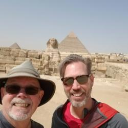 Yeah, we saw the effin' pyramids.