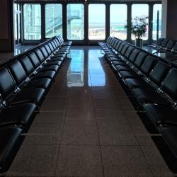 Empty airports.